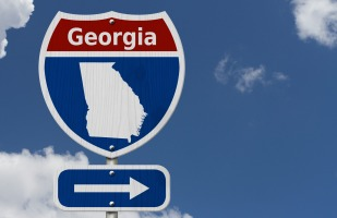 georgia highway sign.
